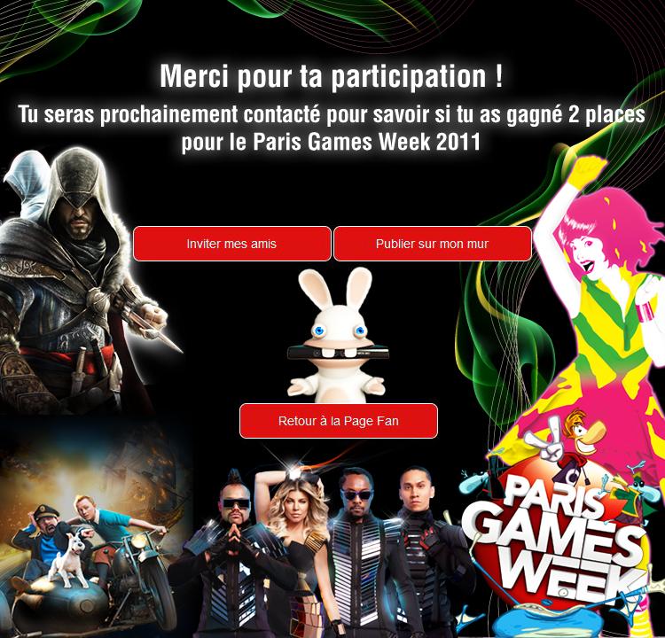 Paris Games Week 2011